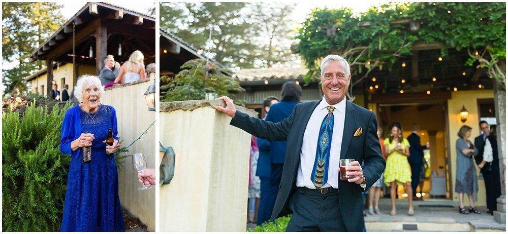 adorable guests at midsummer sebastopol wedding