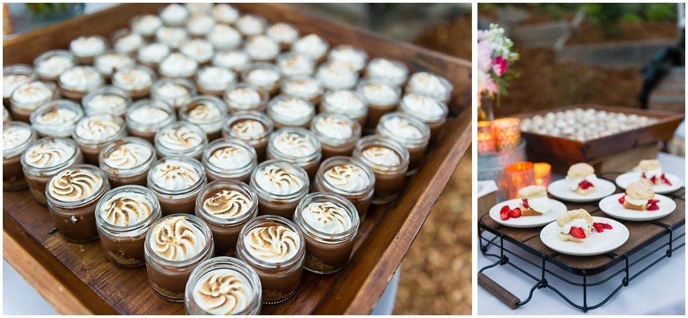 desserts at midsummer sebastopol wedding