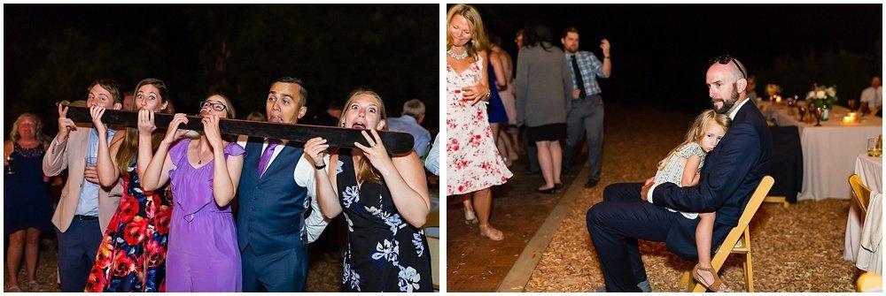party shots at midsummer sebastopol wedding