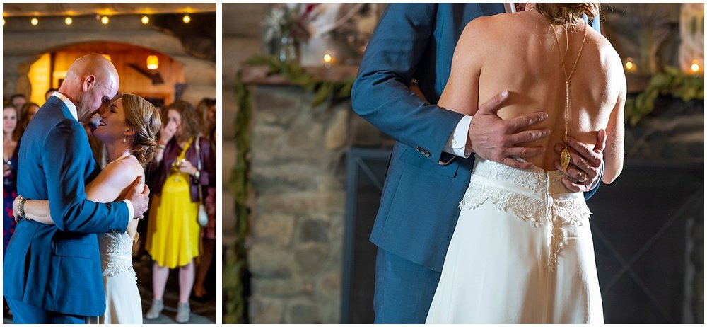 still dancing at gray eagle lodge wedding by chloe jackman photography