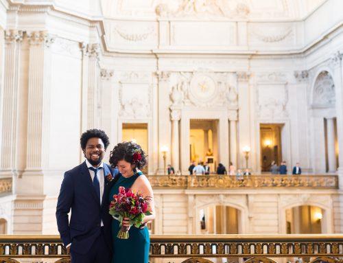 A San Francisco City Hall Wedding With A Magical Hotel Zeppelin Reception