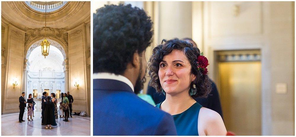 Ceremony of San Francisco City Hall Wedding