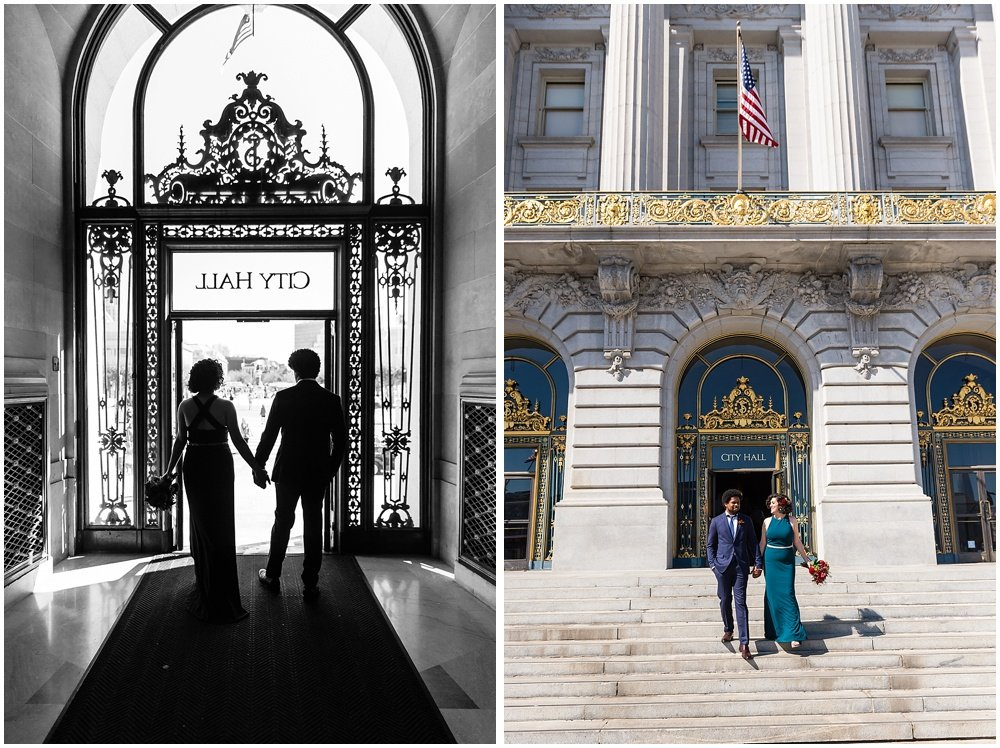 1c56d1a18a5 A San Francisco City Hall Wedding With A Magical Hotel Zeppelin ...