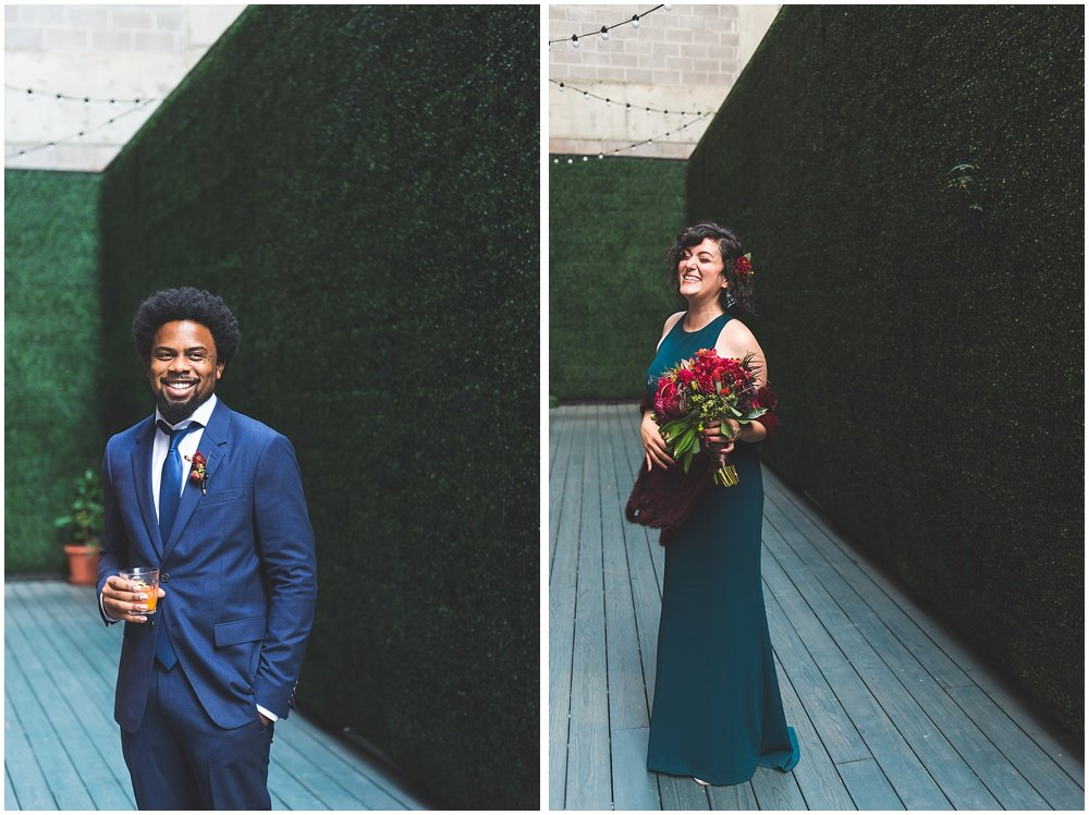 Bride and groom portraits by chloe jackman photography