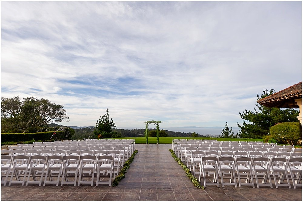 Empty Tehema Golf Club Wedding venue