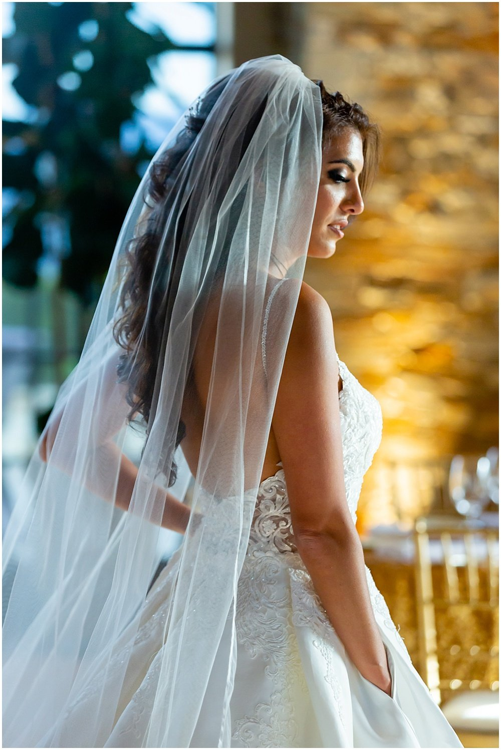Bridal portrait at tehama golf club wedding by chloe jackman photography