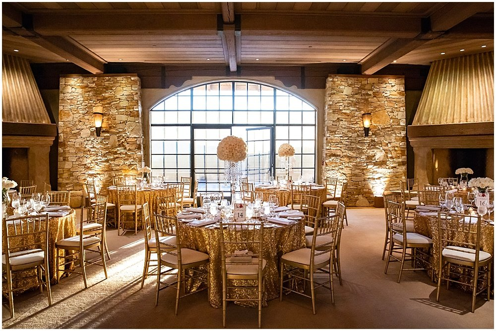 Room layout at tehama golf club wedding by chloe jackman photography