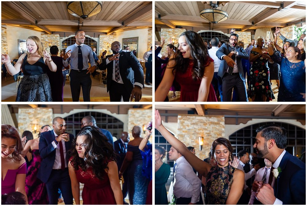 Fun dancing photos at tehama golf club wedding