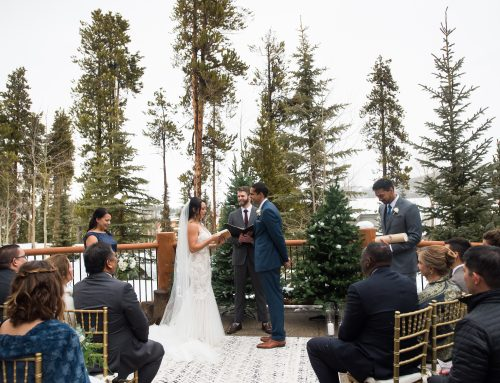 A Winter Wonderland Breckenridge Wedding