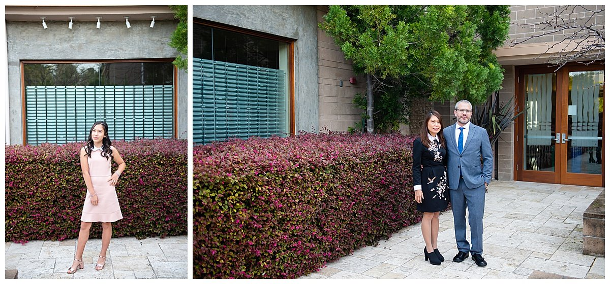 Single shots of student and parents for Bay Area Bar and Bat Mitzvah photography by chloe jackman photography