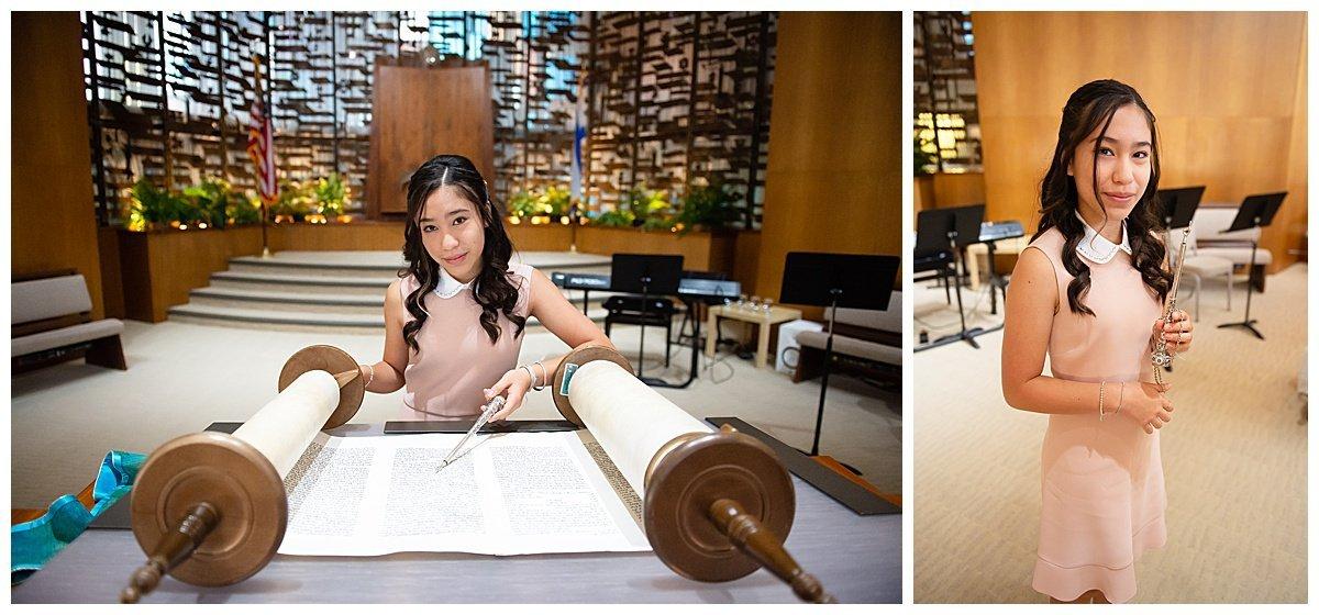 Torah reading at Bay Area Bar and Bat Mitzvah photography by chloe jackman photography