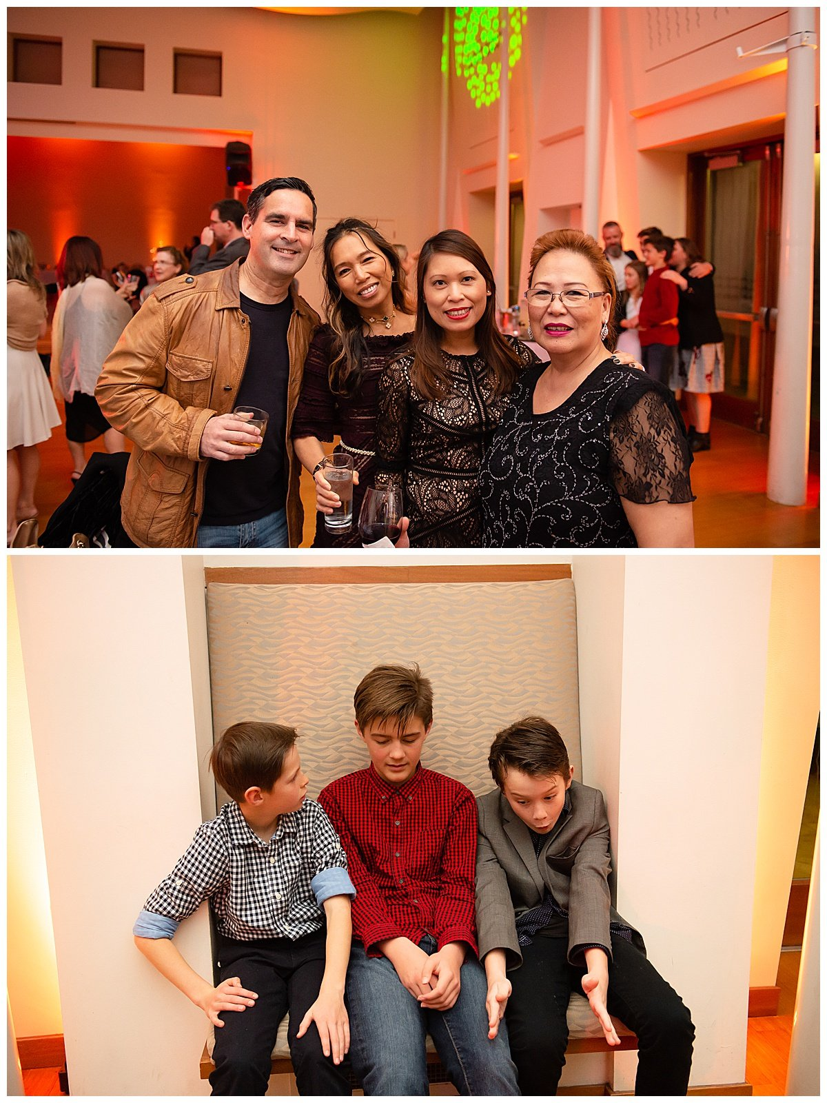 Kids and guests hanging out at Bay Area Bar and Bat Mitzvah photography