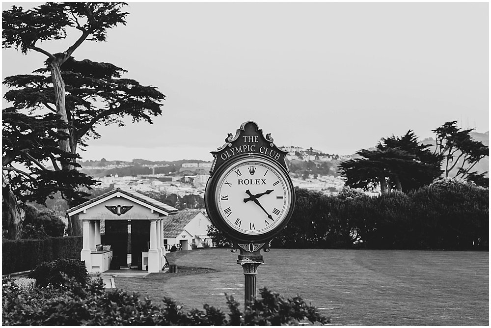 The Olympic Club Wedding rolex by chloe jackman photography