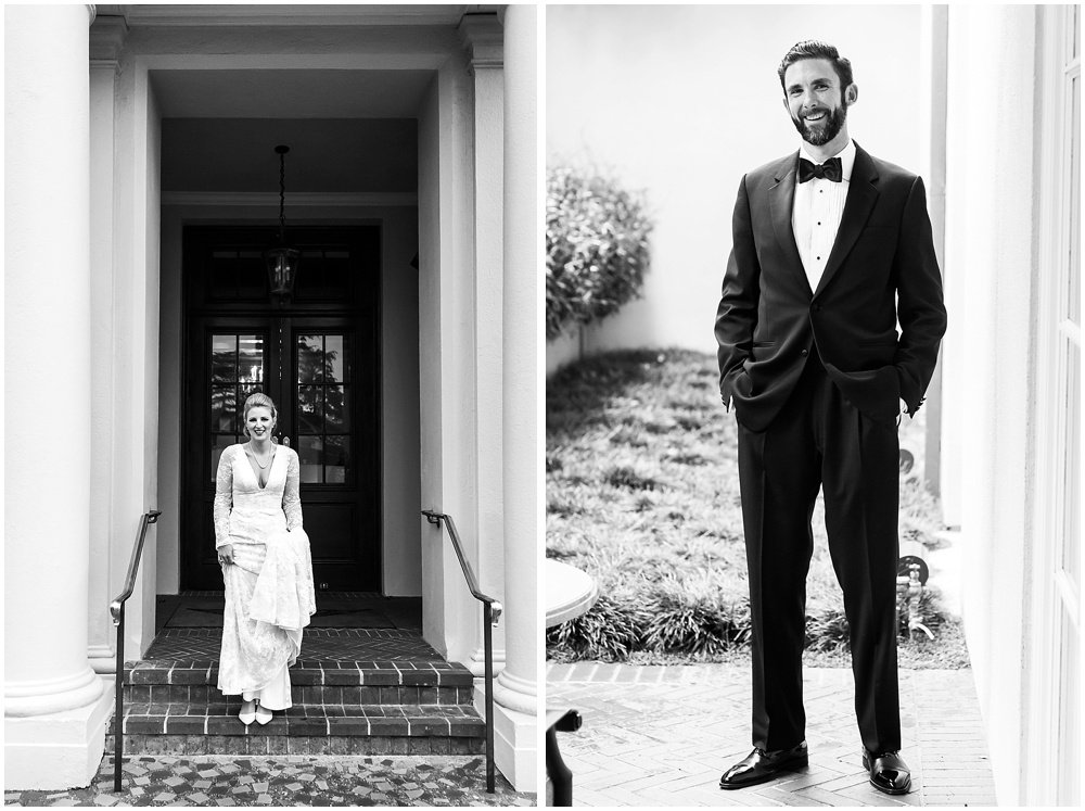 Bride and groom portraits before Olympic Club Wedding by chloe jackman photography
