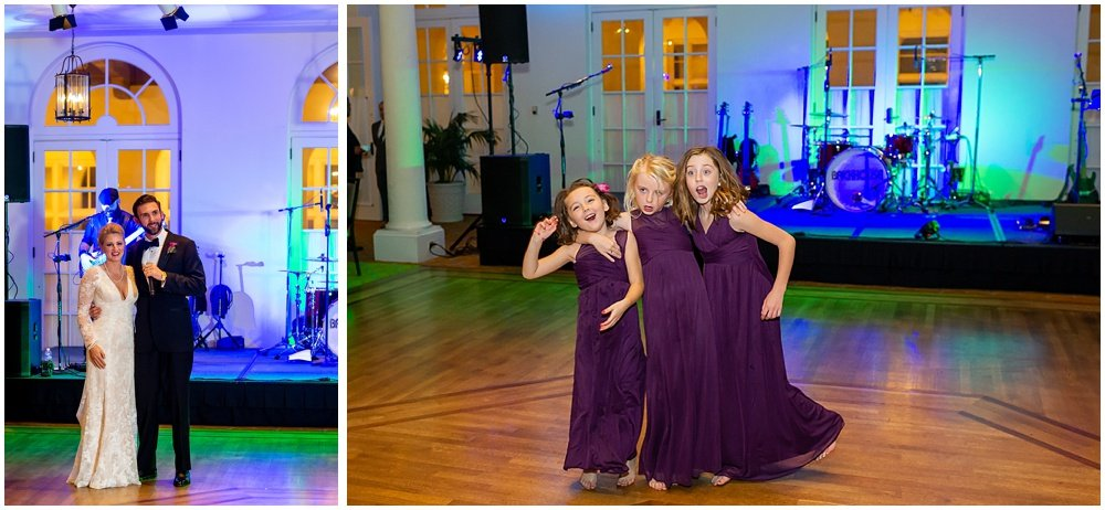 Daughters dance at Olympic Club Wedding reception