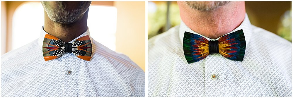 Grooms ties close up before Tre Posti Wedding by chloe jackman photography