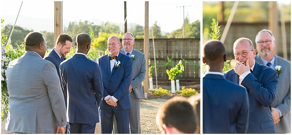 Tears during Tre Posti Wedding by chloe jackman photography