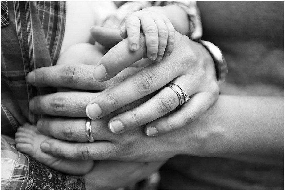 Moms hands and baby for bay area family photographer by chloe jackman photography