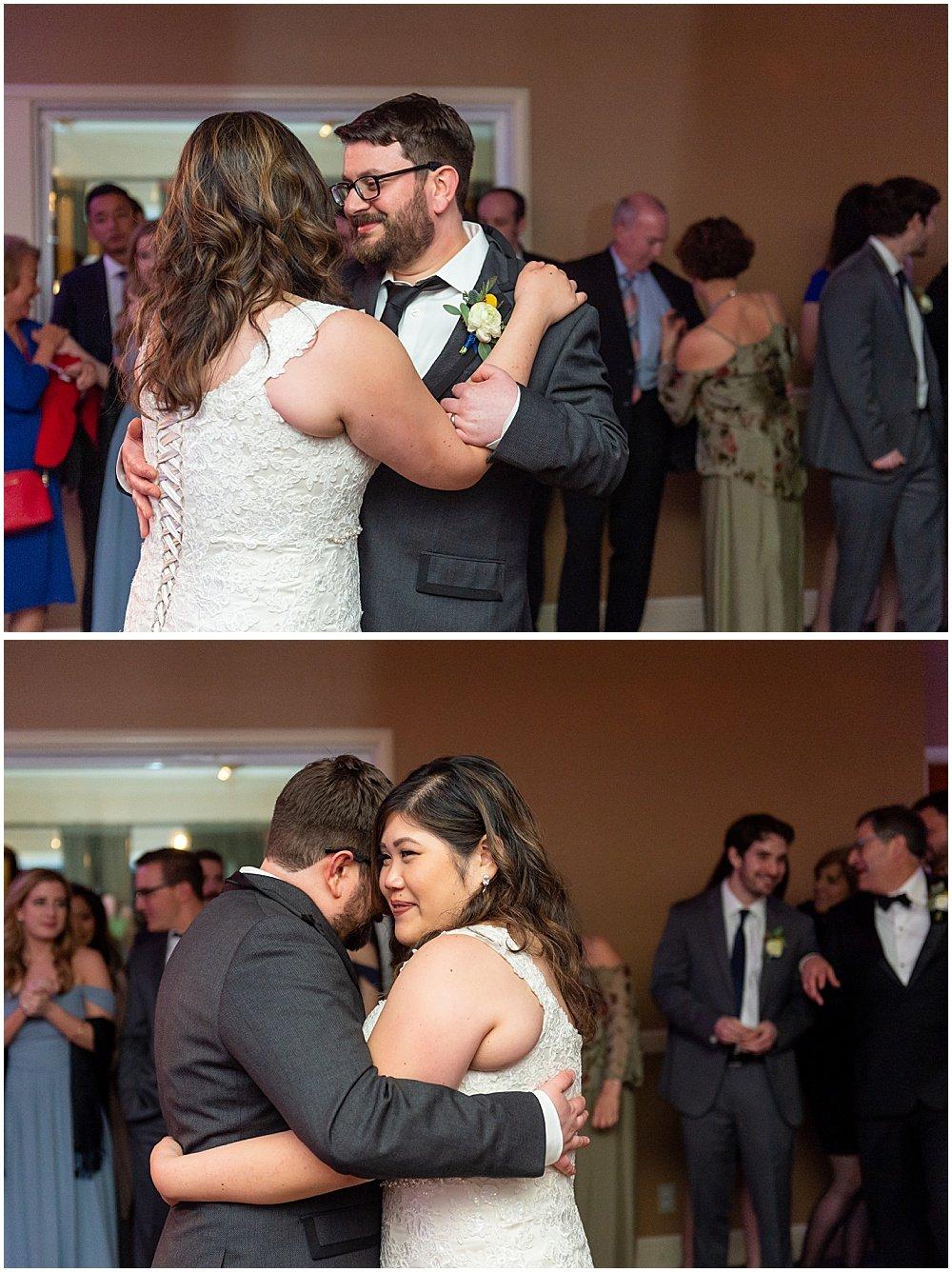 First dance at Deer Park Villa Wedding Fairfax