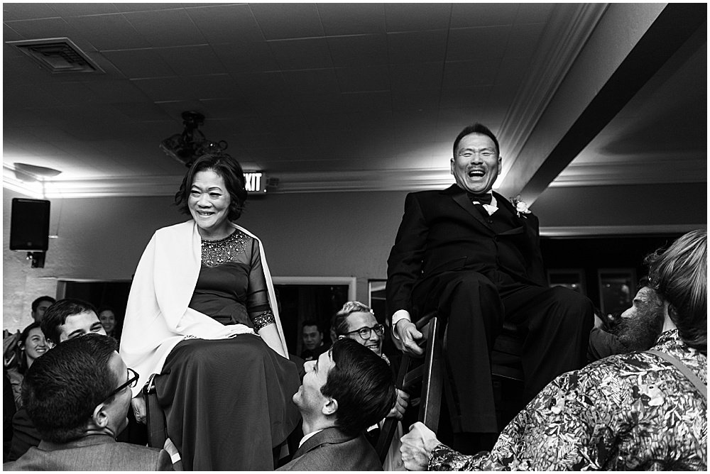 parents on chair dance at Deer Park Villa Wedding Fairfax by chloe jackman photography