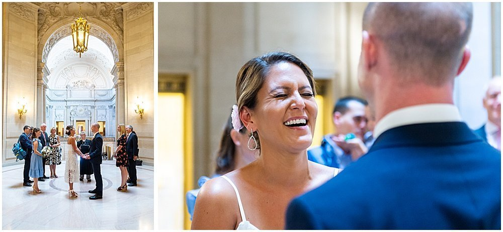 sf city hall weddings ceremony
