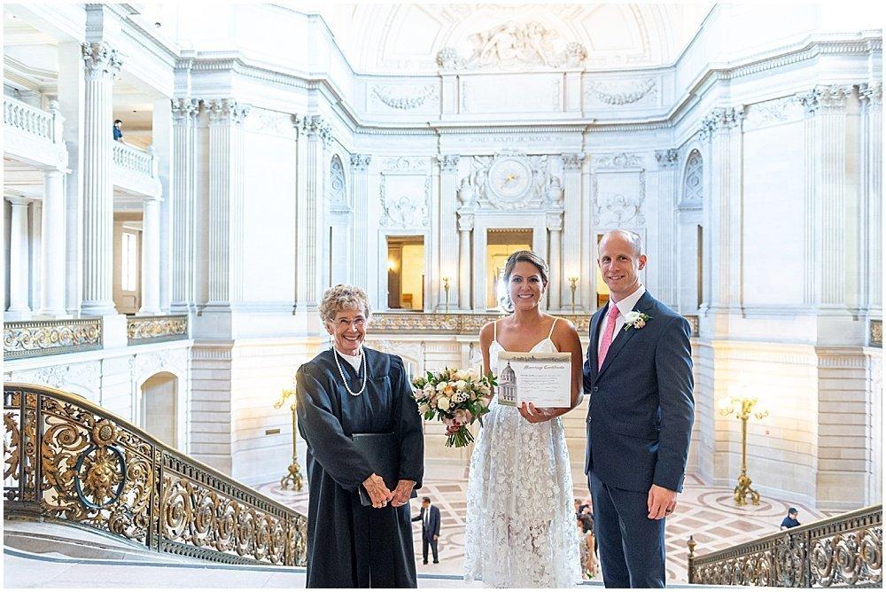 with the judge sf city hall weddings