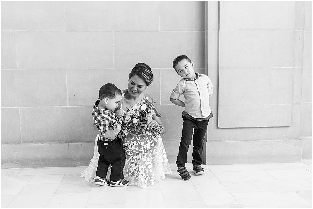 with the children sf city hall weddings