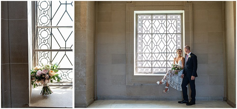 sf city hall weddings window