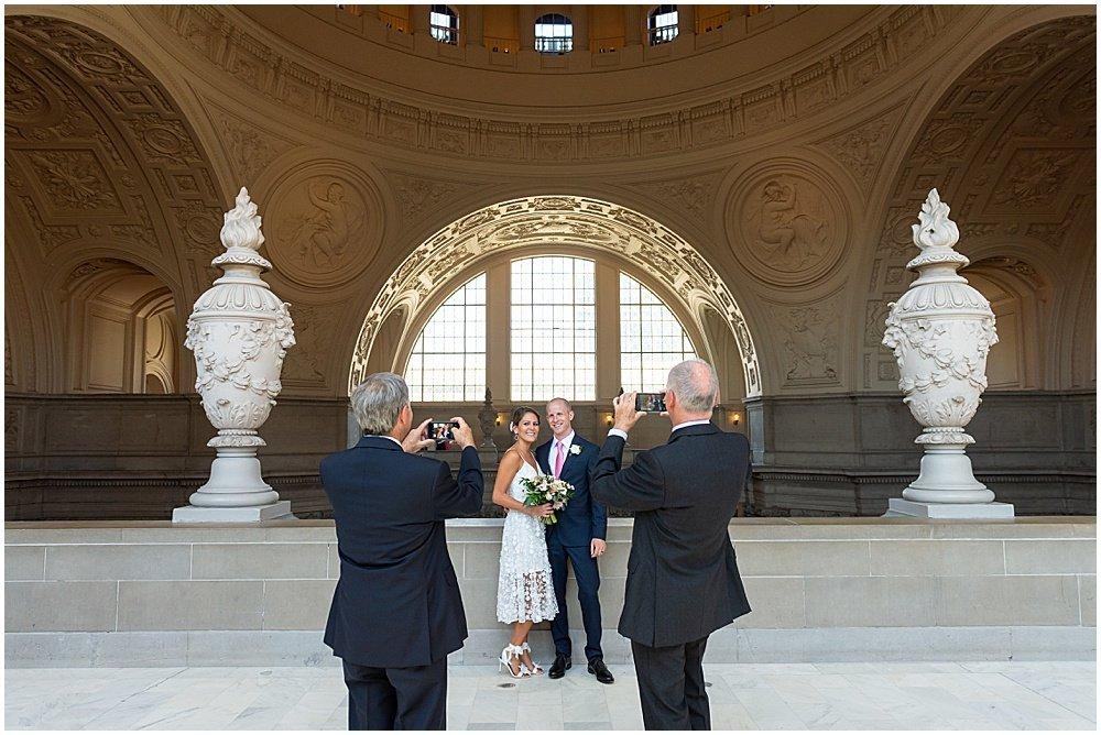 photos of the couple sf city hall weddings
