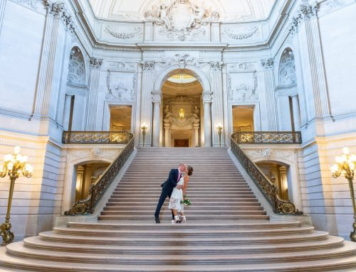 I Love SF City Hall Weddings- Kim and Matt's Big Day