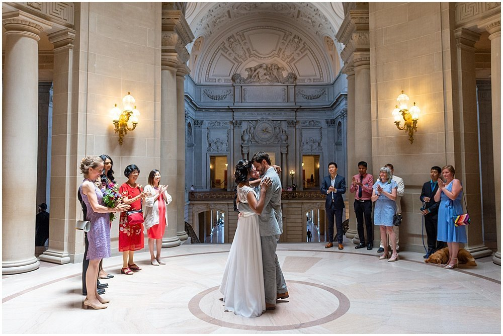 A Classic Fun Cathedral Wedding In San Francisco Winter