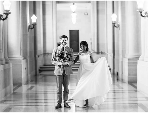 A Perfect Day For Palace of Fine Arts Wedding Photos