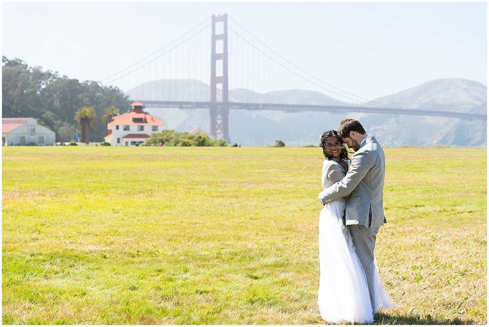 san francisco crissy fields wedding photos