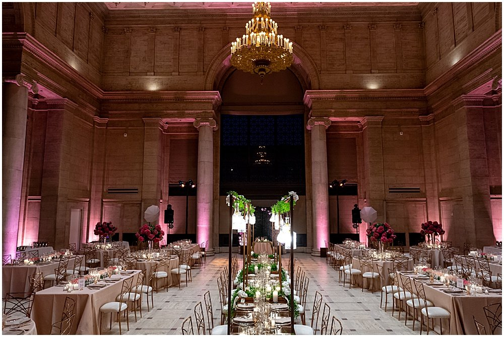 San Francisco Asian Art Museum Wedding Reception Space
