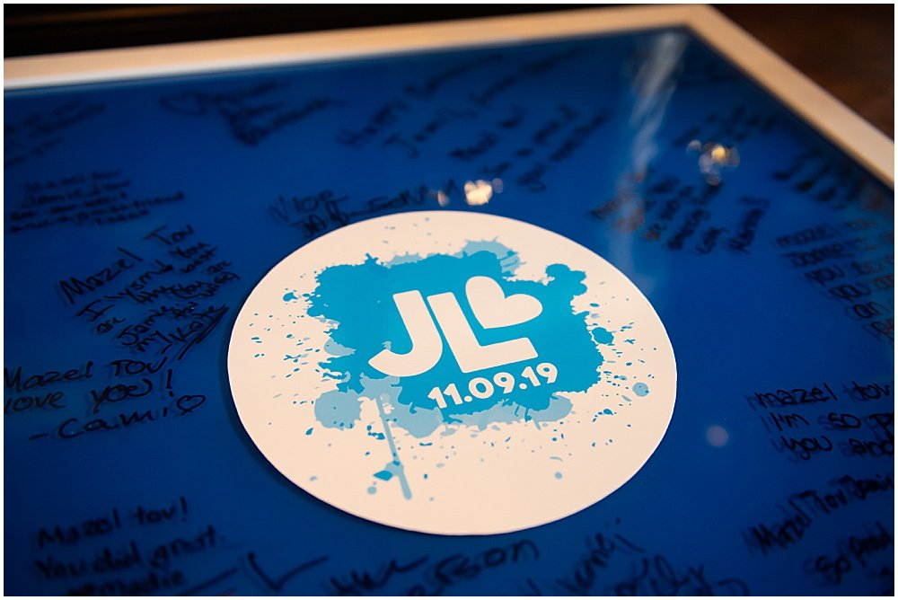 Jamie's bat mitzvah logo