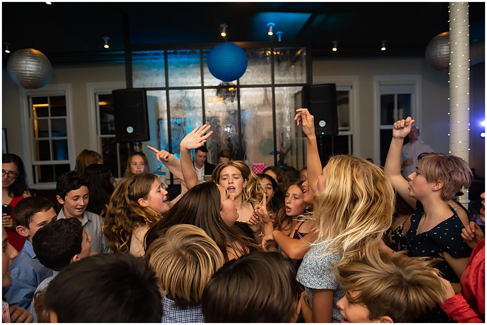 Dancing for a San Francisco Bat Mitzvah