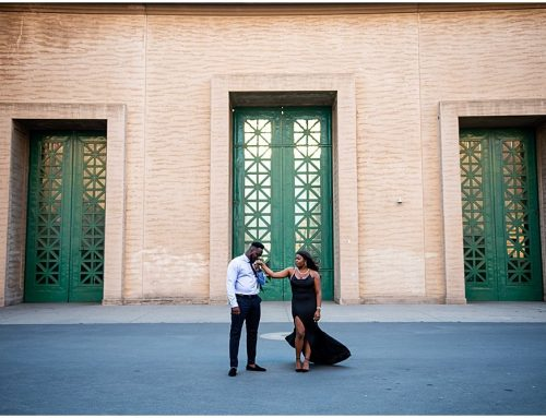 Fall Engagement Photos at the Palace of Fine Arts